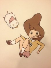 bee_and_puppycat_painting_by_trinketlacefinn-d5yr29t